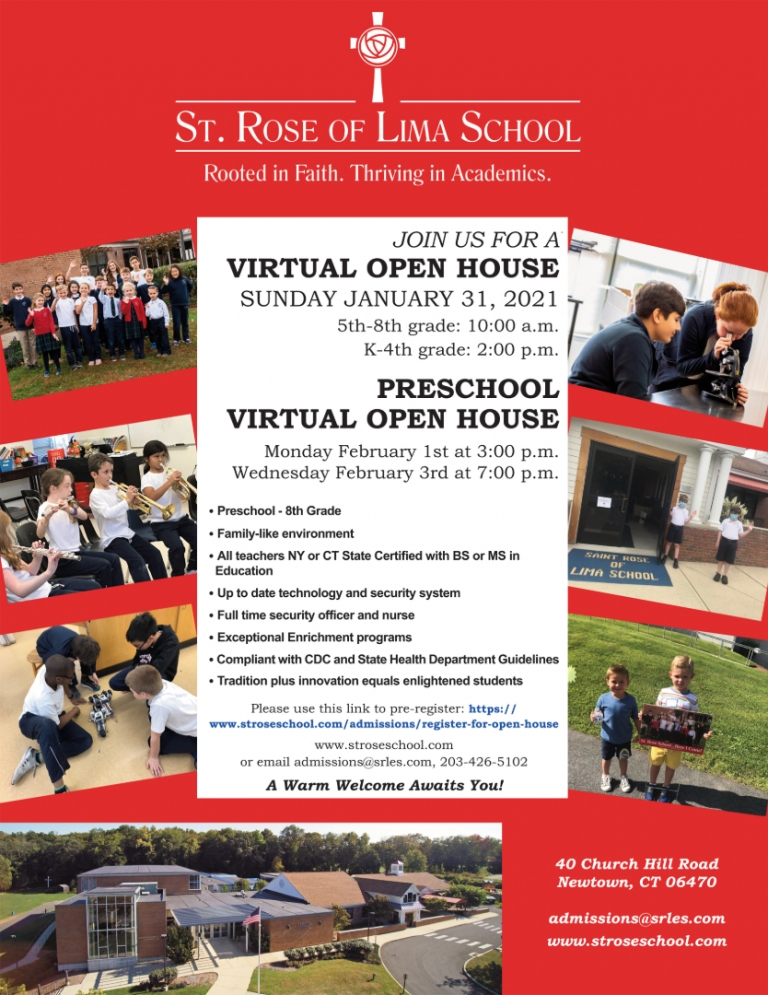 Email admissions@srles.com for full details. A PDF version of this flyer may also be found on this page.